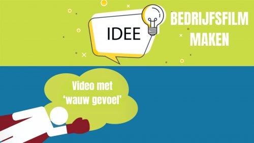 Bedrijfsfilm maken ideeën