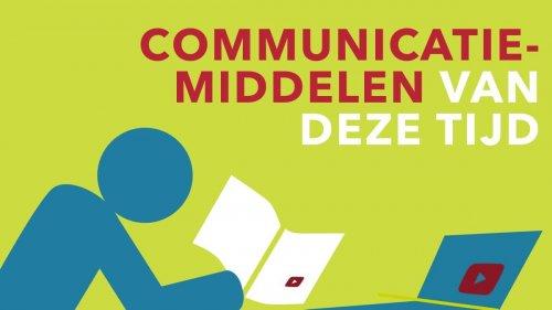 Communicatiemiddelen van deze tijd